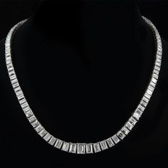 Image result for emerald cut diamond necklace