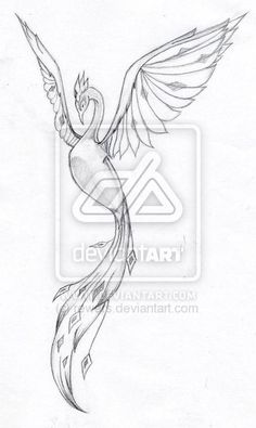 Phoenix Tattoo Designs | Leah S Phoenix Tattoo By Rewers On Deviantart - Free Download Tattoo ...