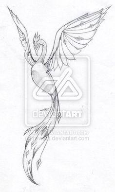 Phoenix Tattoo Designs | Leah S Phoenix Tattoo By Rewers On Deviantart - Free…