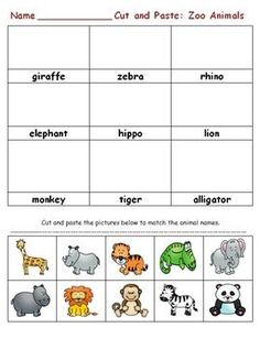 Zoo Worksheets for Preschool. √ Zoo Worksheets for Preschool. A Trip to the Zoo the Mailbox … Zoo Activities Preschool, Animal Activities For Kids, Preschool Printables, Preschool Lessons, Preschool Worksheets, Free Worksheets, The Zoo, Zoo Animals Names, Cute Wild Animals
