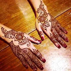 Now taking henna Bookings for 2015 www.MendhiHenna.com Instagram…