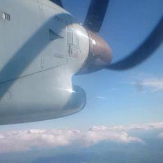 Fin des #12travauxgeants retour vers Montréal puis Paris #avion