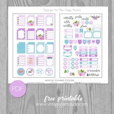 529 best Planner images on Pinterest | Free printables ...