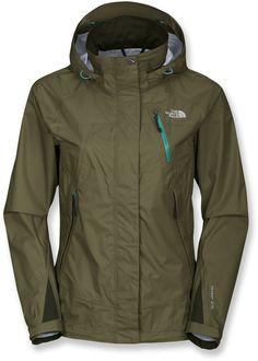 a8413f03aa The North Face Karren Rain Jacket Green Rain Jacket