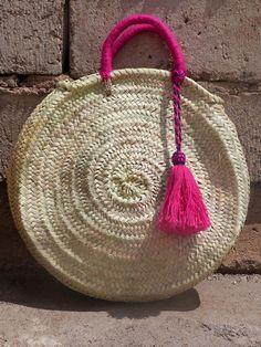 bolso de la paja bolso paja cesta de paja mercado francés