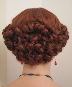 Back of 1930s hairstyle More