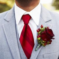 Here is some lad wearing a red tie