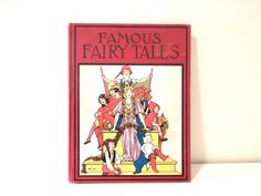 1933 'Famous Fairy Tales No. 95' edited by by PacificBlueBooks, $45.00