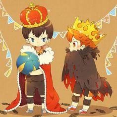 Haikyuu!! ~~ The King and his Consort :: Kageyama and Hinata