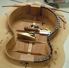 Making a James Einolf resto-mod version of a Gibson L-0 guitar.