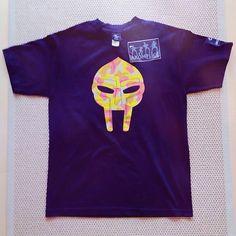 Akomplice X MF DOOM - Camo Mask t-shirt. Very rare