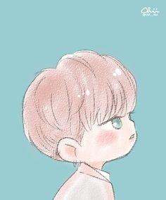 chii en Twitter: •160606 #Fanart #Xiumin #EXO #LuckyOne Cr: Chii___iihc