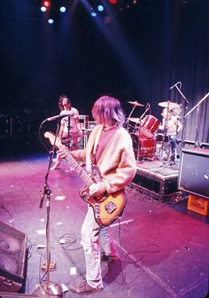 Nirvana live at The Palace in Hollywood, California, 1991.
