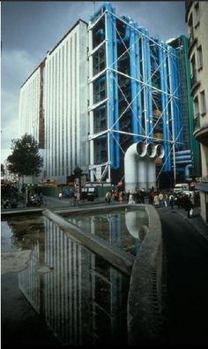 AD Classics: Centre Georges Pompidou / Renzo Piano   Richard Rogers