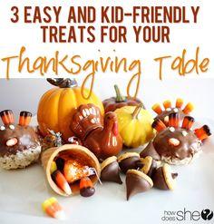 kid friendly thanksgiving treats