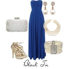 black tie wedding guest by thoughtsbyapetitebrunette on Polyvore