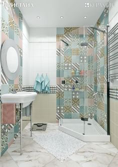 Eclectic Bathroom Ideas: Beautiful Design Inspirations for You Design Wc, Bathroom Design Layout, Best Bathroom Designs, House Design, Bathroom Ideas, Bath Design, Layout Design, Design Ideas, Eclectic Bathroom