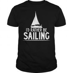 Funny Love Sailing Quote Gift, I'd Rather Be Sailing T-Shirt Black Youth B01IRGGWZU 1*** LIMITED TIME ONLY. ORDER NOW if you like, Item Not Sold Anywhere Else. Thank you! #National #Donut #Holiday