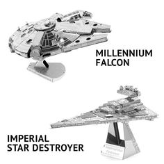 Star Wars Metal DIY 3D Models | GEEKYGET