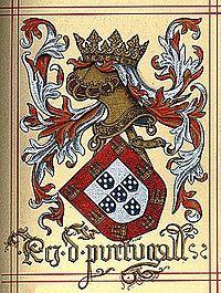 Brasão de armas do tempo do rei D. Manuel