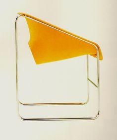 Chair _ Artopex _ Lotus _ Paul Boulva - 1981 1976  _ CanadaDesignResource.ca