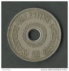 1941 Palestinian coin