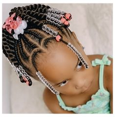 Little Girls Natural Hairstyles, Little Girl Braid Hairstyles, Toddler Braided Hairstyles, Toddler Braids, Kids Curly Hairstyles, Baby Girl Hairstyles, Toddler Braid Styles, African Kids Hairstyles, Kids Hair Styles