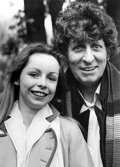 Destiny of the Daleks ~ Romana II (Lalla Ward) and Fourth Doctor (Tom Baker)