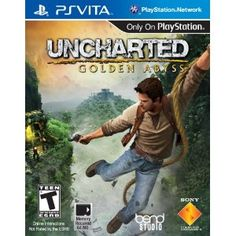 Uncharted Golden Abyss - Top 10 Best PS Vita Video Games