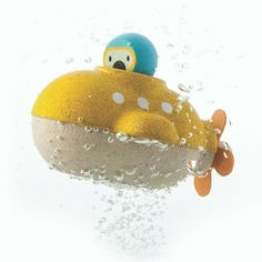 Plan Toys- Submarine- Bath Toy - A Whole Lot of Love