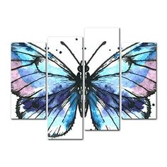 Image result for easy butterfly paintings