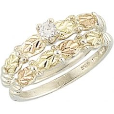 wedding ring set - Black Hills Gold Wedding Rings