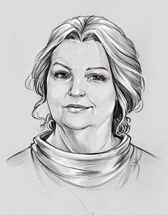 Nenneke by Anastasia Kulakovskaya (Witcher)