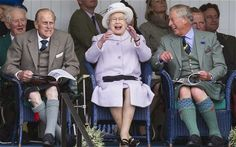 The Queen and Prince Philip brave cold to watch Braemar Gathering - Telegraph