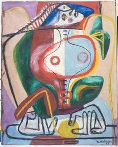 Femme et mains - Le Corbusier