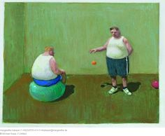 // Untitled - Michael Sowa Michael Sowa (born 1945) is a German artist known mainly for his paintings, which are variously whimsical, surreal, or stunning.More Pins Like This At FOSTERGINGER @ Pinterest