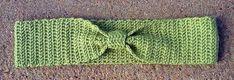 Tied in Bows Headband | Crochet Uncut