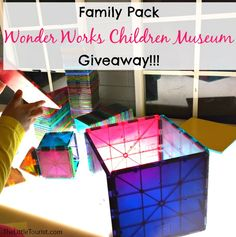 Win a Family Pack Wonder Works Children Museum Giveaway, today! - TheLittleTourist.com