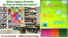 Notre espace de vente à Le Puy-en-Velay est ouvert !