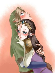 My goodness, do I dislike this pairing... But this is to cute to ignore.