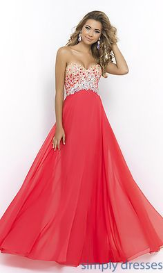 Shop SimplyDresses for sweetheart evening gowns and strapless prom dresses. Blush strapless sweetheart A-line gowns for prom or formal.