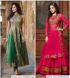 Пакистанские костюмы - Вышивка Стиль