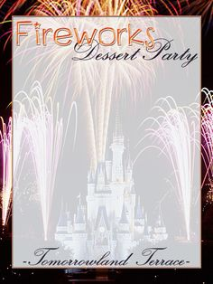 Journal Card - Fireworks Dessert Party - Tomorrowland Terrace - Magic Kingdom - 3x4 photo pz_DIS_732_MK_FireworksDessertParty_TomorrowlandTce_3x4.jpg
