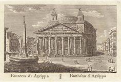 The Pantheon, Rome, 1830