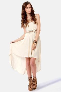 Play the Middle High/Low Dress