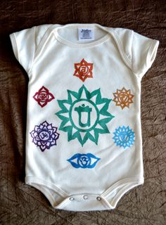 Yoga Baby onesie  handmade kids clothes  by heARTIlluminate, $23.00