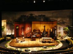Joe Turner's Come and Gone. Mark Taper Forum. Scenic design by John Iacovelli.