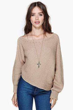 Adrienne Crop Sweater