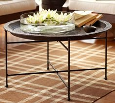 """Moroccan Tray Table 