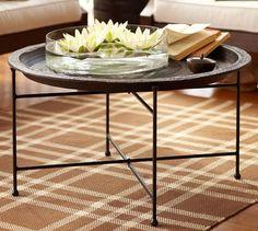 Moroccan Tray Table - 34 diameter